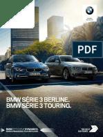 Catalogue BMW Serie 3 Berline Touring