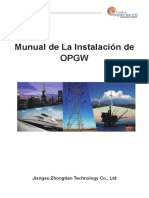 Installation Manual OPGW Spanish HIPOLITO