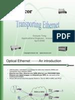 Transporting Ethernet