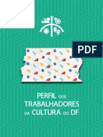 Perfil do Trabalhadores da Cultura do Distrito Federal (2014-2015)