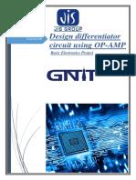 Design differentiator circuit using OP-AMP large.docx
