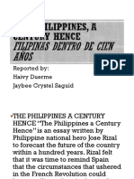 The Philippines, a Century Hence.pptx