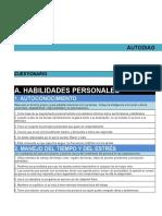Formato Autodiagnóstico gerencial
