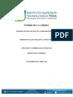 7. Informe de Practicas Pre Profesionales