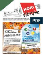 Höriwoche KW44