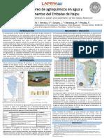 Monitoreo de agroquímicos en agua y sedimentos del Embalse de Itaipu