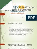 Norma ISO y Tipos de Software_YudyVivas