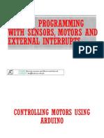 05 Arduino Sensors, Motors and External Interrupts.ppt