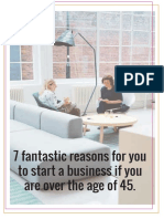 7 Fantastic Reasons for You to Start a Business