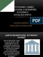 Instituciones, Cambio Institucional & Desempeño Economico