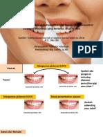Efek Dari Aktivator Kimia Pada Pemutihan Gigi Dengan - Copy