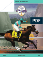 Breeders' Cup 2019 Saturday program