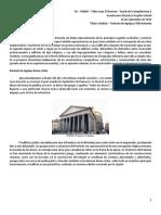 Panteón de Agripa y Villa Capra - comparación