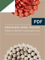 Class Cookbook - Dominique Ansel