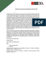Programa y Minuta Conversatorio Realidad Trans Araucanía (1)