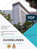 Guidelines Ugm x Kku New