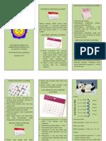 Leaflet kb sederhana kalender