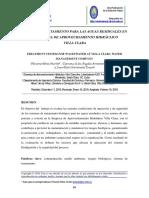 Biodigestores para tratamiento de agua residual