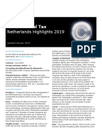 Dttl Tax Netherlandshighlights 2019