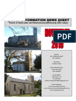 Parish News November 2019 - The Parish of Newcastle & Newtownmountkennedy with Calary, Co. Wicklow, Ireland