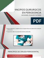 Principios Quirurgicos en Periodoncia