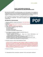 Cuestionario - Servidor Civil