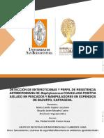 Detección de Enterotoxinas y Perfil de Resistencia Antimicrobiana de Staphylococcus Coagulasa Positiva Aislado en Pescados y Manipuladores en Expendios de Bazurto,Cartagena (1)
