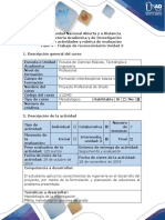 Guía de actividades y Rúbrica de evaluación - Fase 4 - Trabajo de reconocimiento Unidad 3-