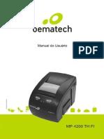 MP 4200 TH FI Manual Do Usuario