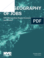 Geography of Jobs NYC Department of City Planning October 2019