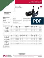 Valvula Manual Norgren m1702