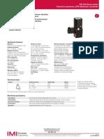 Valvula Proporcional Norgren 422