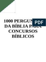 1000 PERGUNTAS DA BÍBLIA PARA CONCURSOS BÍBLICOS.pdf