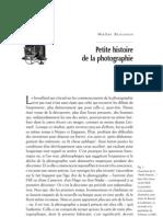 Walter Benjamin Petite Histoire de La Photographie 1931
