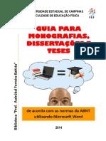 Guia Para Monografias, Dissertações e Teses