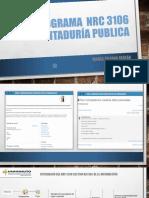 Cronograma Nrc 3106 Contaduría Publica