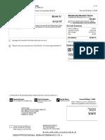 HSEF Credit Card Statement Mar 2019