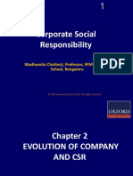360 33 Powerpoint Slides Chapter 2 Evolution Company Csr