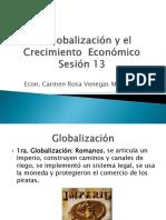 Globalización y Crecimiento Economico
