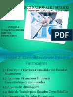 UNIDAD 2 Consolidacion de Estados Financieros