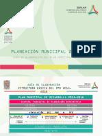 elaboracion plan municipal