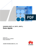 Guía rápida de instalación del inversor Huawei SUN2000