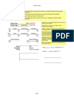 Cocomo Calculation Sheet
