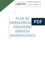plan de emrgencias
