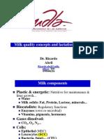 Milk Quality Concepts Ricardo Abril