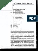 Curciullum Evaluation