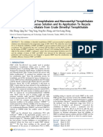 Solubilities MMT_DMT in Aqueous Methanol Solution
