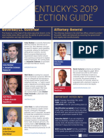 Kentucky Election Guide 2019
