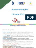 Prezentare Achizitii Publice 25 Iunie 2019