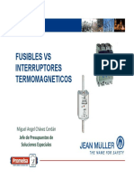 Presentacion Fuses vs Circuit Breakers